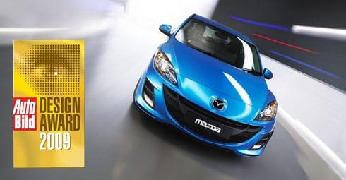 Mazda 3 získala ocenění Nejkrásnější auto světa 2009