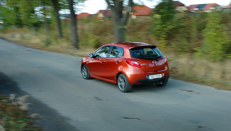 Mazda 2 1.3 MZR: štika v městském rybníce