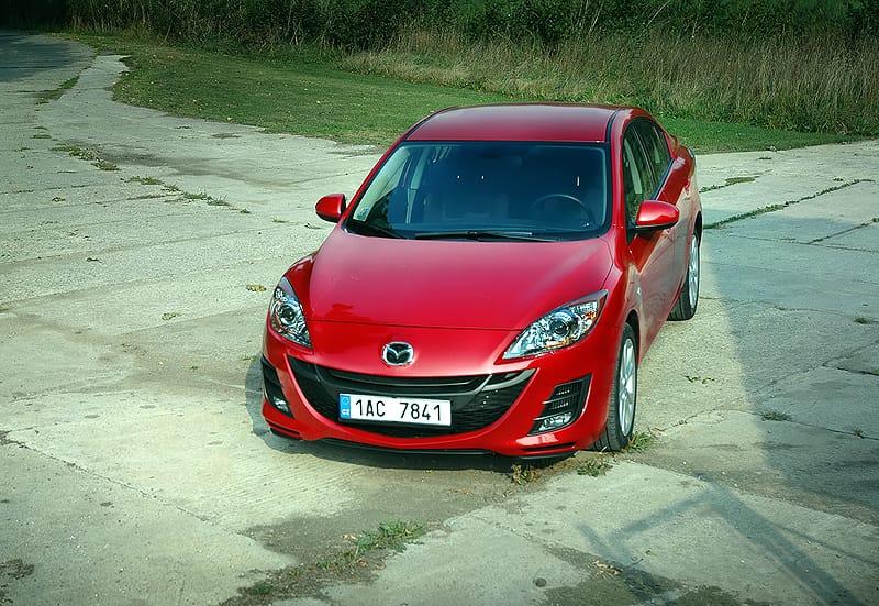 Mazda 3 Sedan 2.2 MZR-CD: všemi deseti