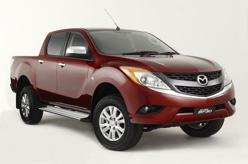 Mazda BT-50: nová generace pickupu je vysmátá