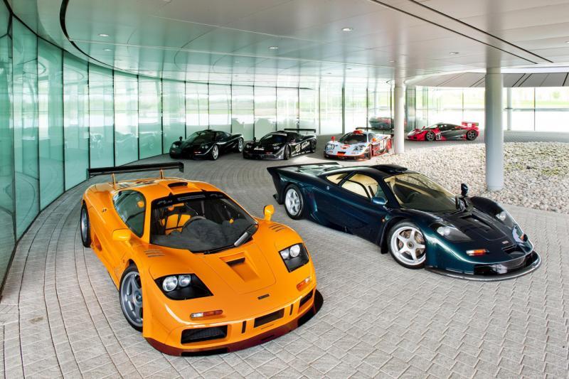 McLaren Automotive slaví dvacáté narozeniny svého F1