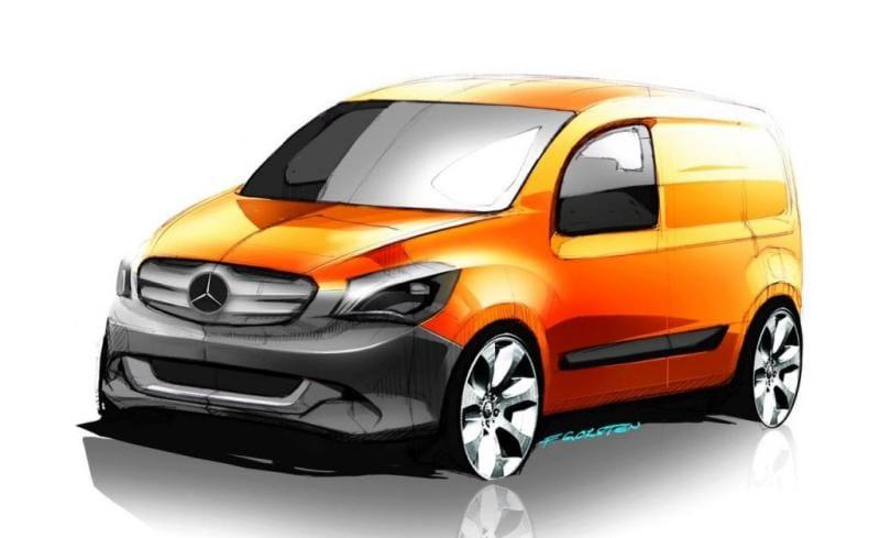 Mercedes-Benz Citan: malá dodávka podle Renaultu Kangoo