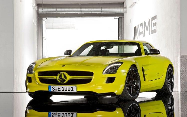 Mercedes-Benz SLS AMG na baterky. Chybí mu jen dálkové ovládání