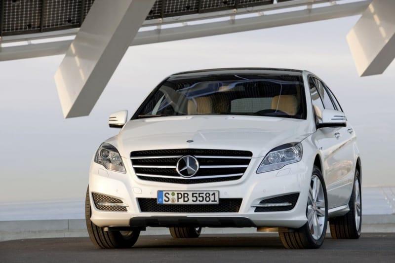 FOTOGALERIE: Mercedes-Benz R po faceliftu