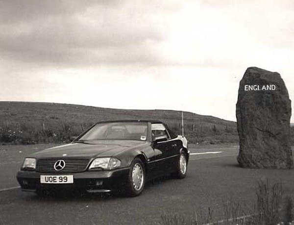 Před dvaceti lety: Mercedes Benz SL počtvrté