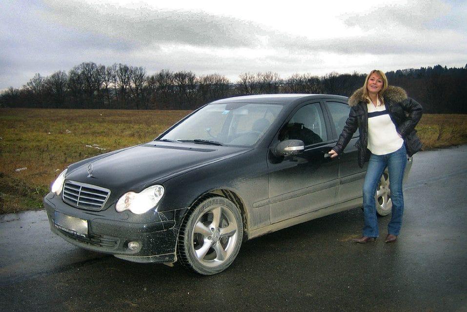 Test ojetiny: Mercedes-Benz C 220 CDI: Hvězda dráždí lidi (2005)