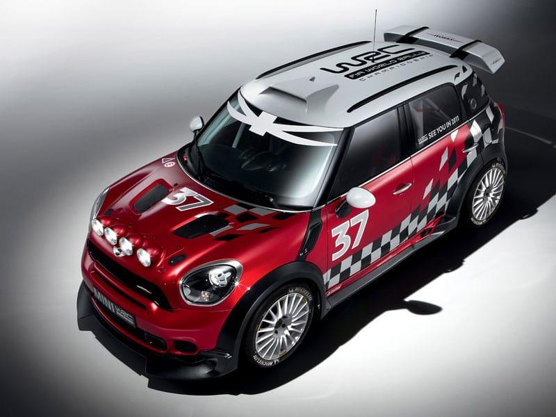 Mini WRC představeno. Závodní vůz vychází z modelu Countryman