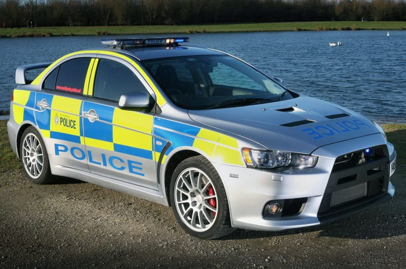 Policie v Yorkshire má novou posilu: Mitsubishi Evo X