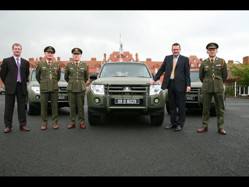 Irská armáda si vybrala vozy Mitsubishi Pajero