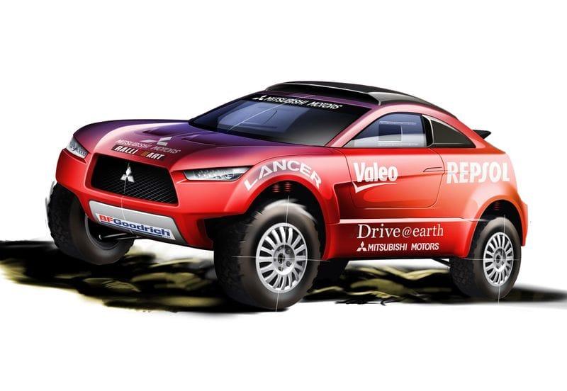Mitsubishi Lancer pro Dakar: konec velké legendy
