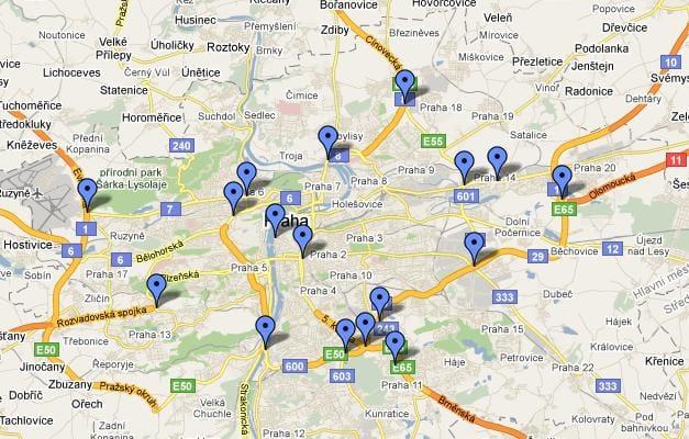 Kde se v Praze nejvíc bourá? Tady je mapa nehod