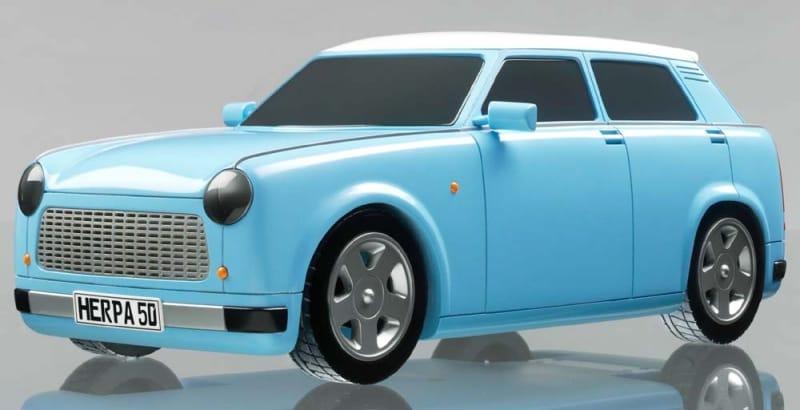 Nový Trabant se představí už ve Frankfurtu. Jako elektromobil