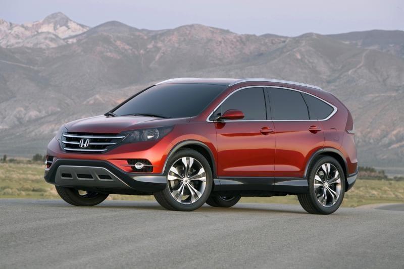 Honda CR-V nové generace: první náznak vzhledu