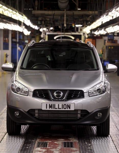 Nissan Qashqai oslavil milion vyrobených vozů