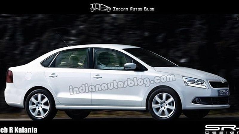 Špionáž: nová levná Škoda zachycena v Indii. Bude to Rapid?