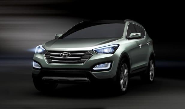 První fotografie: nový Hyundai Santa Fe