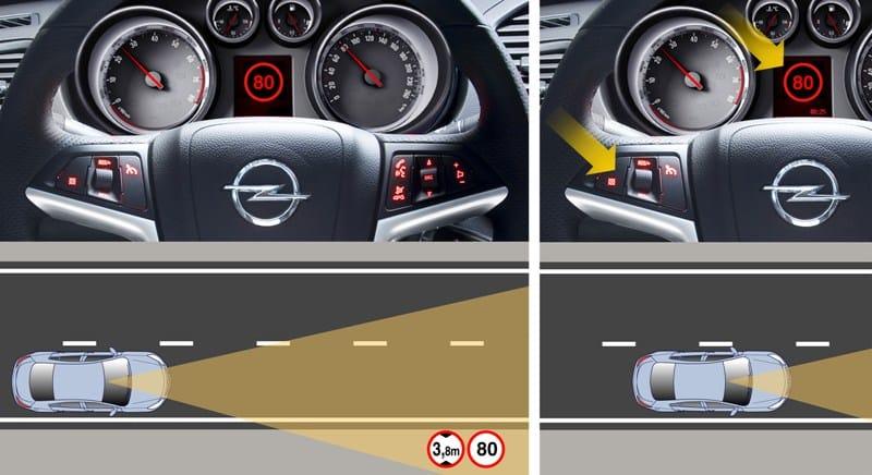 Opel Insignia za vás přečte dopravní značky