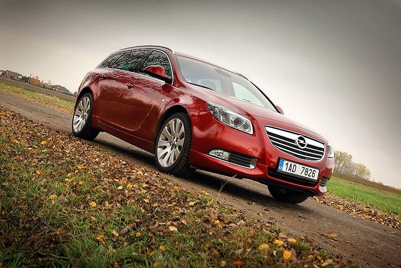 Opel Insignia Sports Tourer 1.6 Turbo: navoněný praktik