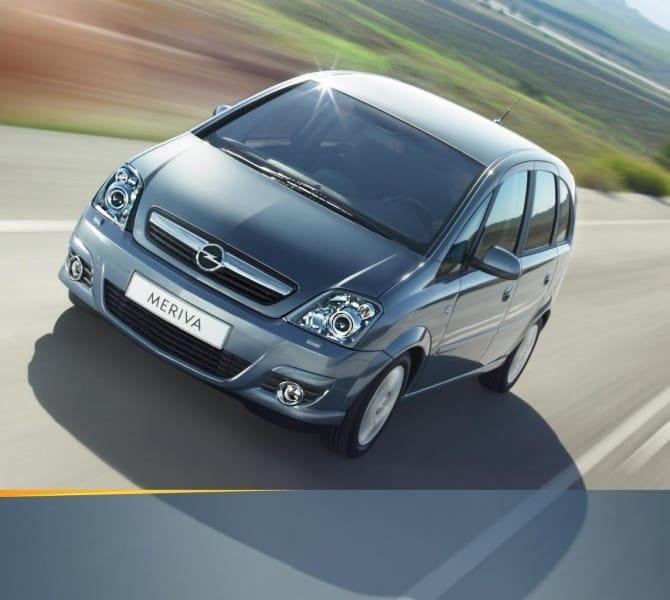 Opel Meriva 1.7 CDTi: labutí píseň