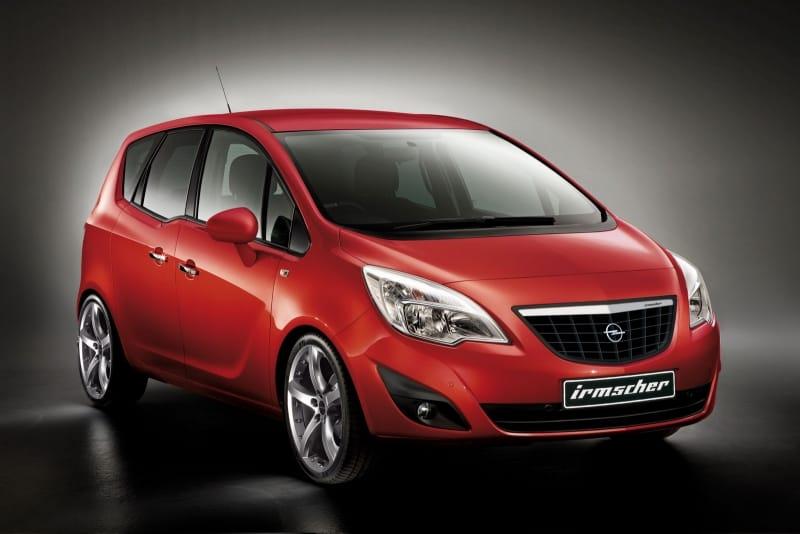 Opel Meriva by Irmscher: sport paket pro nováčka