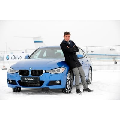 Vojta Kotek dostal nové auto: BMW řady 3