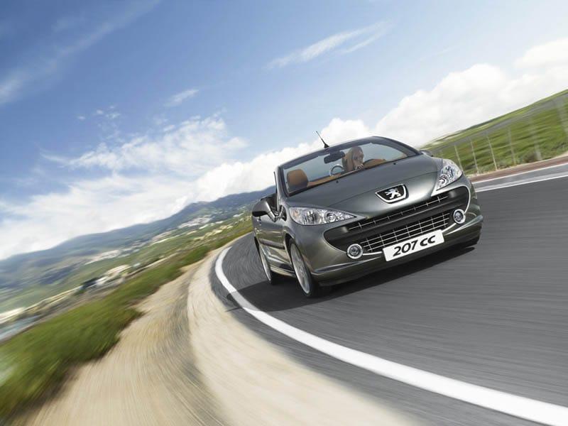 Peugeot 207 CC: nejbezpečnější z kabrioletů