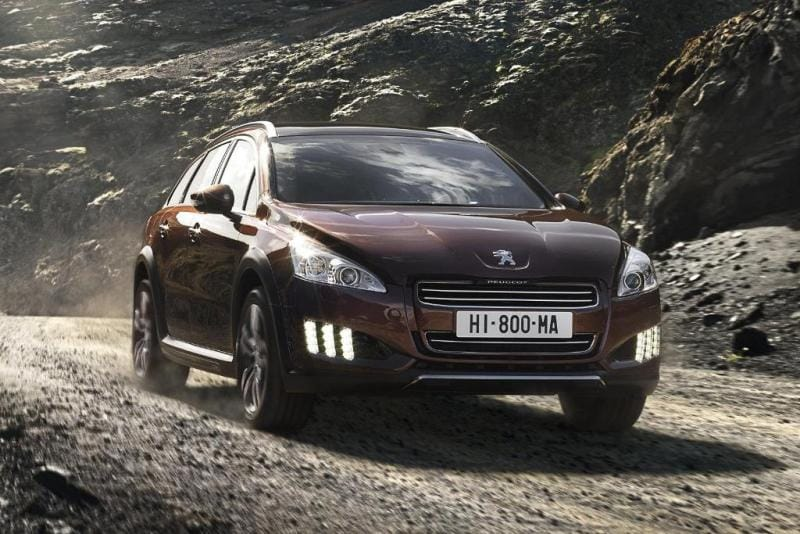 Peugeot 508 RXH: hybridní čtyřkolka do terénu