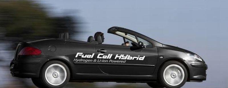 Peugeot 307 CC FiSyPAC: na vodík budeme jezdit v roce 2020