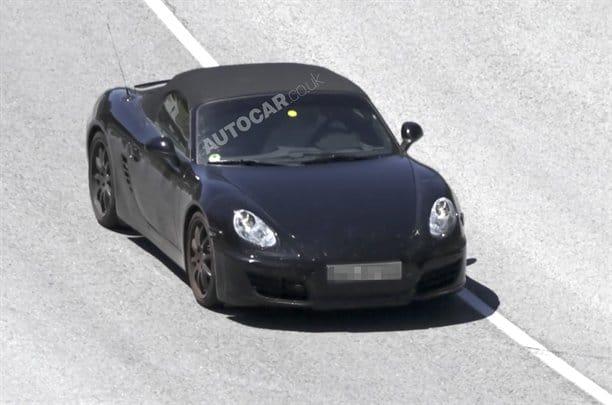 Špionáž: nové Porsche Boxster na stříbrném podnose
