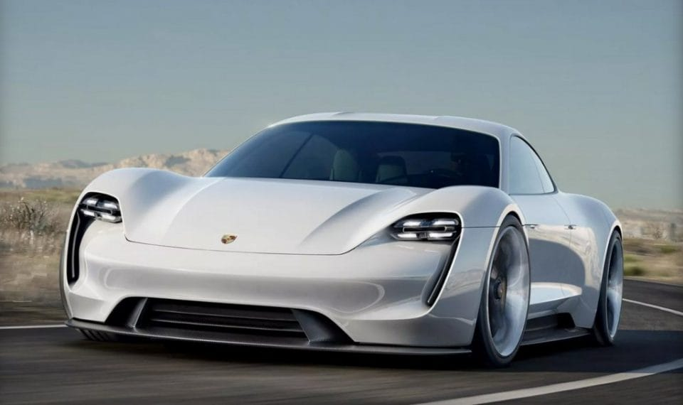 Frankfurt 2015: Porsche Mission E je elektromobil s dojezdem 500 km
