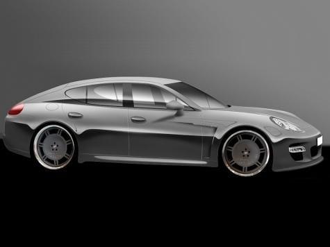 Porsche Panamera: tuning ještě před premiérou
