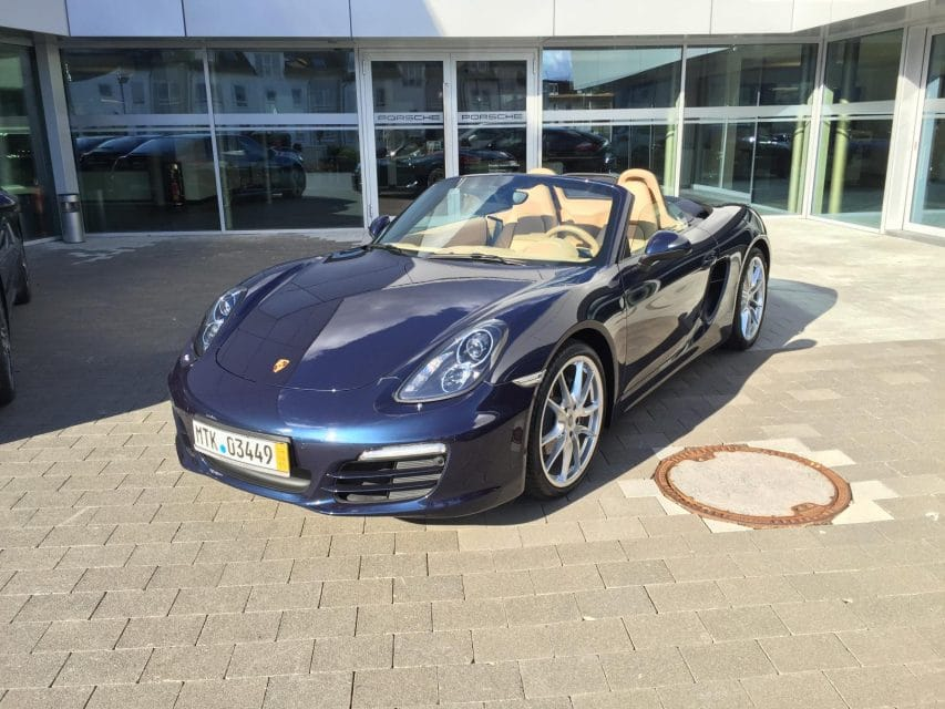 Porsche Boxster (981): dokud je ještě čas