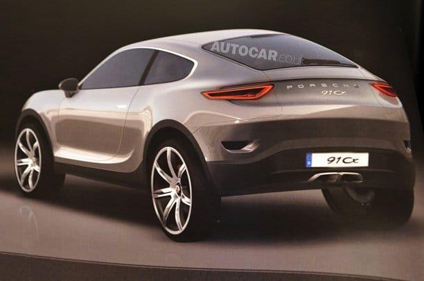Špionáž: Porsche Cajun na prvních skicách