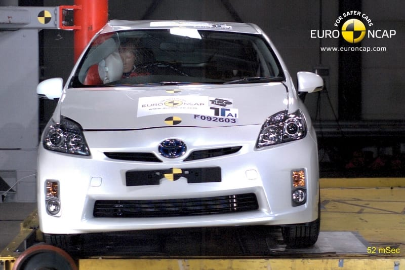Toyota Prius získala 5 hvězdiček od Euro NCAP
