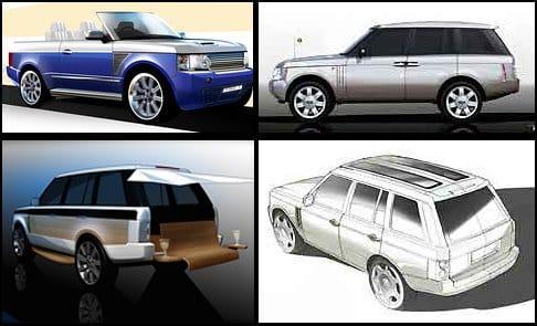 Luxusní doplněk k jachtě: námořní Range Rover