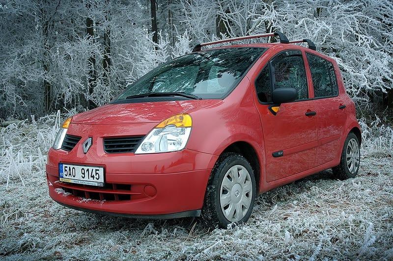 Renault Modus 1.2: buclatý Francouz