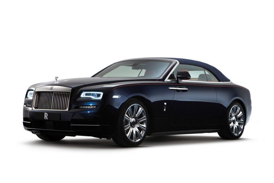 Frankfurt 2015: Rolls-Royce Dawn, nové kabrio za 10 milionů