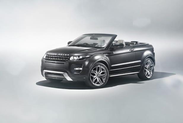 Ženeva 2012: Range Rover Evoque Convertible, studie SUV-kabrio