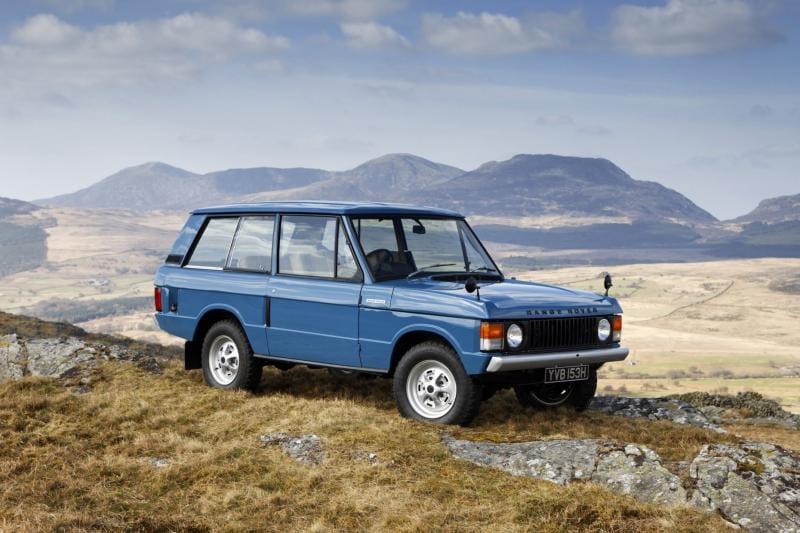 Terénní ikona Range Rover slaví čtyřicáté narozeniny
