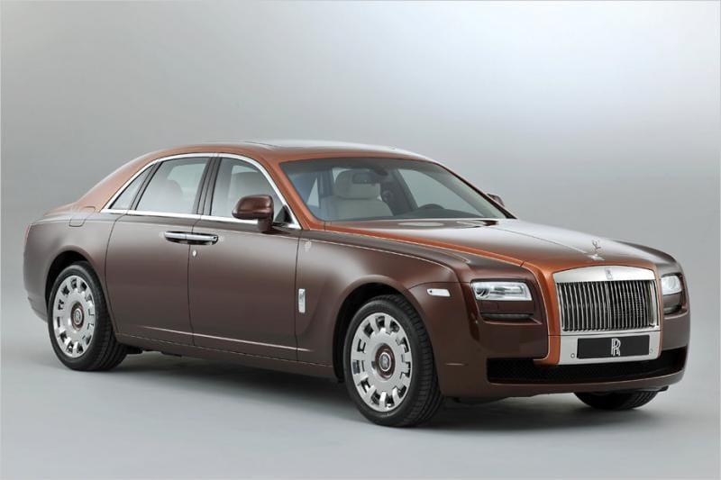 Rolls-Royce Ghost: létající koberec z Anglie