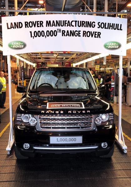Range Rover vyrobil milion aut. Slavil i Top Gear