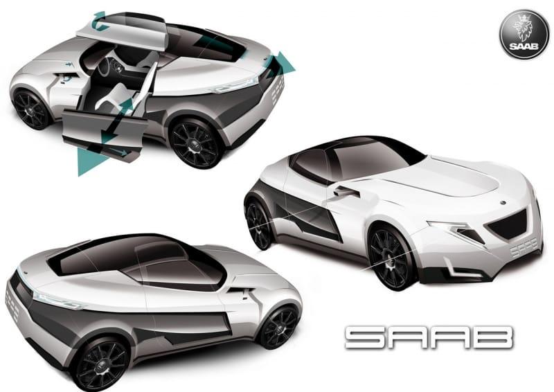 Koncept Saab Fashionista: Chevrolet Volt v sexy kabátě