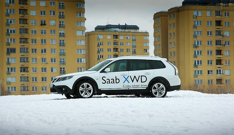 Saab 9-3X 2.0T BioPower XWD: doba ledová