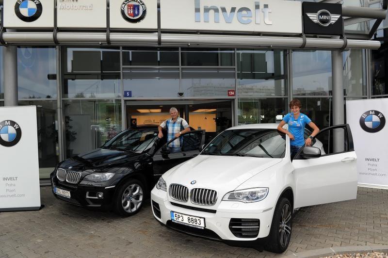 Rychlobruslařka Martina Sáblíková jezdí v BMW X6
