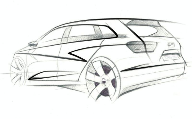 Seat Ibiza ST: první skica sportovního kombi