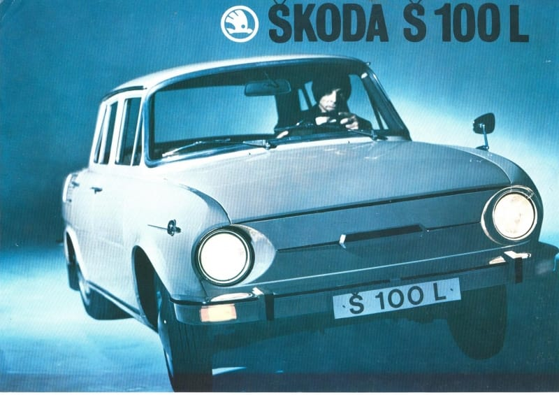 Před čtyřiceti lety: do světa vyjíždí Škoda 100