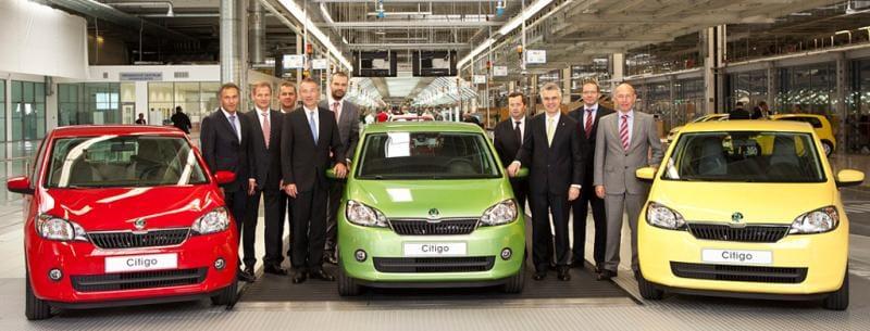 V Bratislavě se začala vyrábět Škoda Citigo