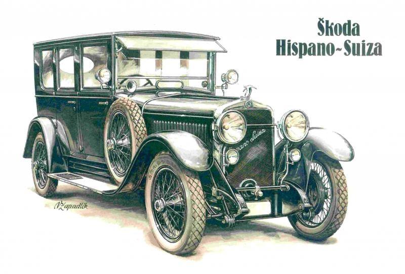 Před 85 lety: ŠKODA–Hispano Suiza přináší logo, které vydrželo dodnes