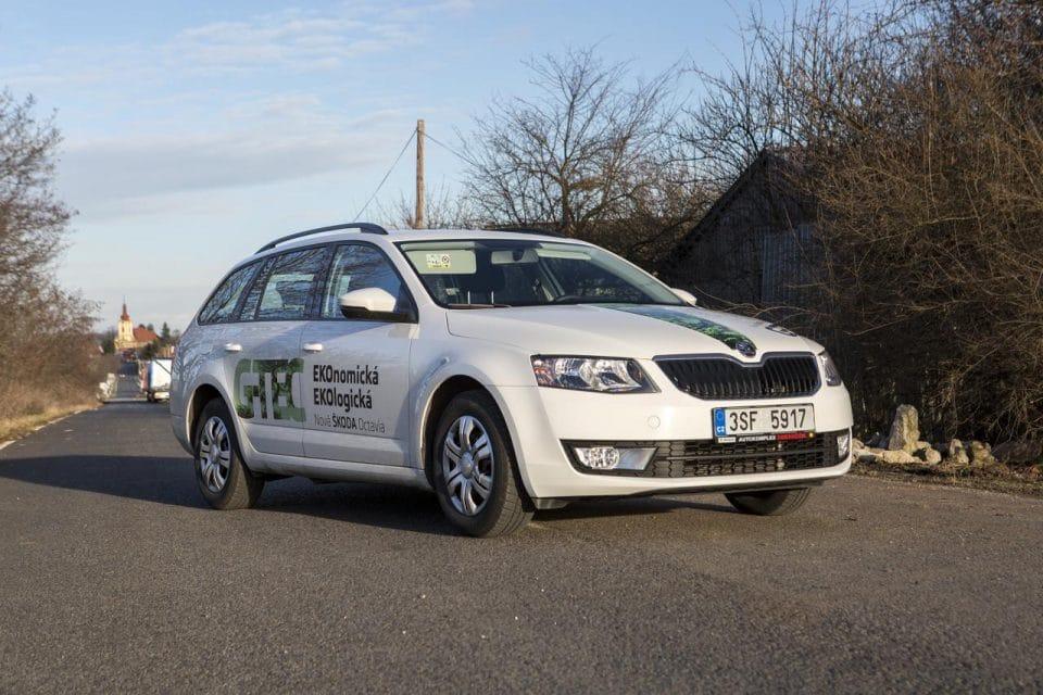 Škoda Octavia G-TEC 1.4 TSI (CNG): jezdíme na plyn