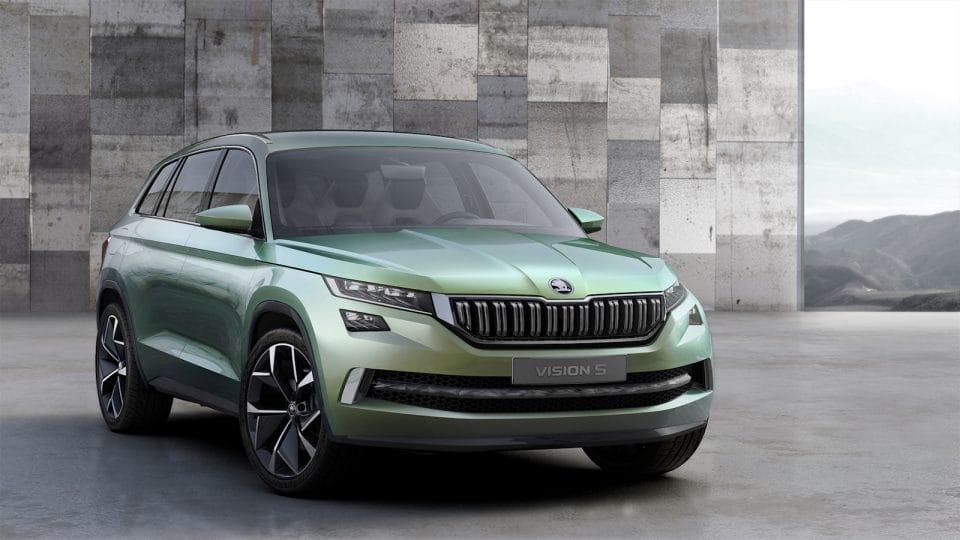 Škoda Vision S: studie hybridního SUV naznačuje, jak bude vypadat Kodiaq